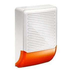 Sirene Outdoor Exterior Alarme Intrusão Aviso Flash