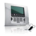 Teclado LCD Branco Home Keeper Chave Eletronica